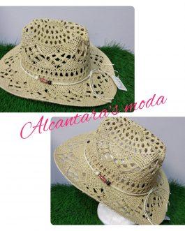Sombrero vaquero paja mujer