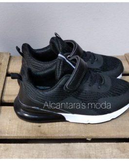 Zapatillas negras niñ@s