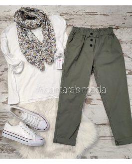 Pantalón Kira verde Kaki