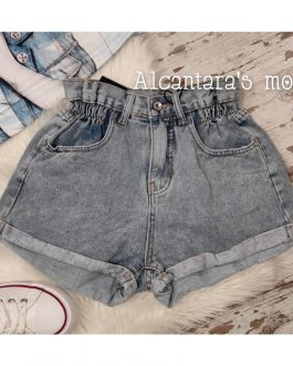 Short jeans mujer azul
