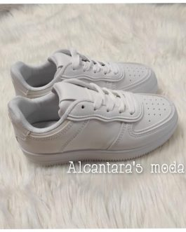 Zapatillas blancas niñ@s