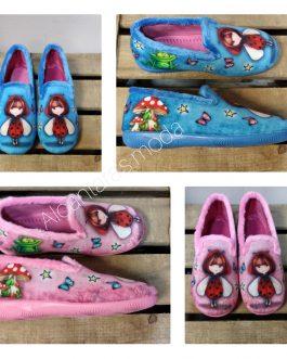 Zapatillas casa niñas cerradas 28-35