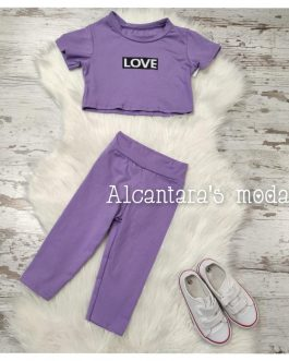 Conjunto Love niña
