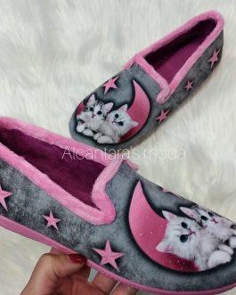 Zapatillas casa gatitos 35 – 41