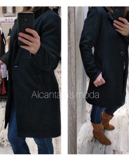 Chaqueta abrigo paño mujer
