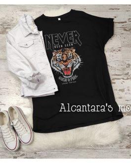 Vestido Never over size