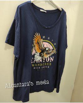Camiseta Curvy Águila