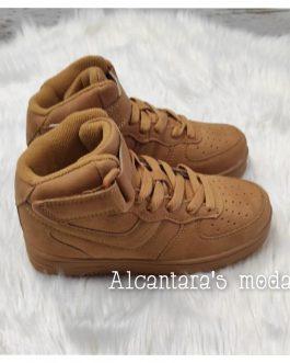 Zapatillas bota camel niñ@s