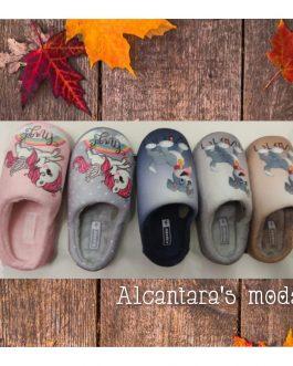 Zapatillas casa niñ@s abiertas 28-35